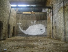 La baleine de la friche