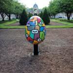 Sculpture en honneur aux donneurs d'organes / Centre Hospitalier de Roubaix