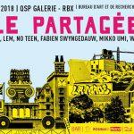 Exposition collective «Ville Partagée» Galerie QSP – Bureau d'Art et de Recherche – Roubaix – 6 au 30 septembre 2018