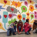 Mise en peinture de l'école du Sacré-Coeur / Baisieux