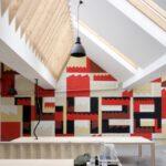 Fresque murale pour l'agence web 14H28 / Roubaix